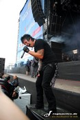 Fotos: Papa Roach bei Rock am Ring 2007